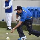 Australian Mark Casey in action at the North East Valley Invitation Singles yesterday. Photo by...