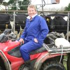 Balclutha dairy farmer Hamish Anderson is pleased with the $6.10 milk solids payout announced by...
