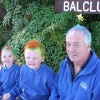 Balclutha Primary School held 'Crazy hat and hair' day yesterday to fundraise for one cause,...