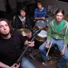 Incarnate members (from left) Mike Mitchell (20), Brendon McHattie (18), Daniel Shea (18) and...
