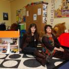 Barnardos Child and Family Services Otago service manager Frederica Shannon (left) and Dunedin...