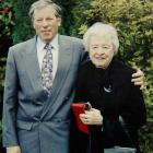 Basil and Christine Goble, who died within 28 hours of each other. Photo supplied.