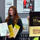 Bayfield High School year 10 pupils (from left) Georgia Auckram, Gemma Cleaver and Penny Woods ...