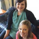Becci (left) and Gemma Huls are enjoying their involvement with the buddy programme. Photo by...