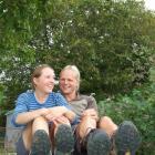 Belgian couple Valerie De Clerck and Dominique Ghijselinck in Ettrick last week, sporting the...