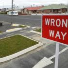 Bellona St's floating islands, road markings and signs have vanished as part of the South Dunedin...
