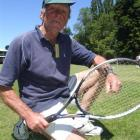 Bill McKerrow is one of the characters competing in the South Island tennis festival in Oamaru....