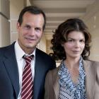 Bill Paxton (Bill) and Jeanne Tripplehorn (Barb), leading characters in Big Love.