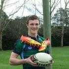Blue Mountain College year 12 pupil Gavin Stark divides his time between rugby and athletics....