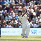 Brendon McCullum hit 16 fours and four sixes on his way to the fastest century in test history....