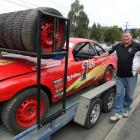 Brighton's Paul Simon  is hoping to win  the New Zealand Streetstock GP title at Beachlands...