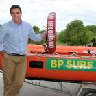 Brighton Surf Lifesaving Club president Nevan Trotter wants the public to vote to win the club an...
