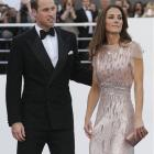 Britain's Prince William, the Duke of Cambridge, and his wife Kate, Duchess of Cambridge arrive...