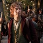 British actor Martin Freeman stars as Bilbo Baggins in The Hobbit: An Unexpected Journey. Photo...
