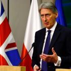 British Foreign Secretary Philip Hammond. Photo Reuters