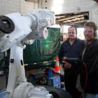 Bruce Muldrew (left), general manager operations of Realcold Milmech (Millers Mechanical) in...