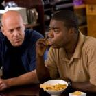 Bruce Willis (left) and Tracy Morgan, in crime comedy Cop Out. Photo from MCT.