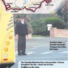 Dunedin Passenger Transport bus driver Bop Cope. Graphic by Hayden Smith.