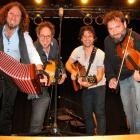 Canadian musicians (from left) Rejean Brunet, Nicolas Boulerice, Simon Beaudry and Olivier Demers...