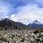 Canterbury's braided rivers are for study in a course offered by BRaid. Photo from Allied Press...