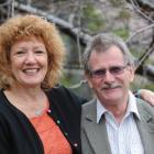 Career counsellor Glenys Ker with her husband Otago Polytechnic chief executive Phil Ker, in...