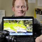 Carey Knox's work identifying the individual marks on jewelled geckos has won him an...