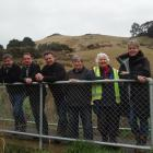 Hereweka Harbour Cone Charitable Trust members (from left) Mike Lord, Norcombe Barker, Paul Pope,...