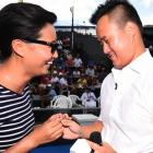 Cathy Qin accepted Ralph Chang's proposal. Photo: NZ Herald