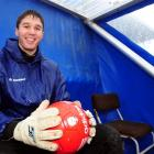 Caversham player Liam Little is focused on playing well for the Oly-Whites during their Olympic...