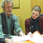 Central Otago Art Awards selectors Jim Cooper, of Dunedin, and Kathryn Mitchell, of Invercargill,...