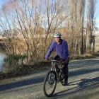 Central Otago District Council business development manager Jonathan Gadd near the Alexandra end...