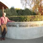 Central Otago District Council chief executive John Cooney finishes in the role this week. Photo...