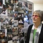 Central Otago Health  chairwoman Ainsley Webb looks at photos spanning the hospital's 150 years....