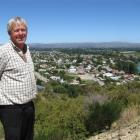Central Otago Mayor Tony Lepper looks over Clyde, which he called a ''beacon for development''....