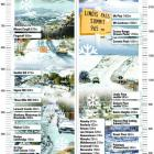Our very useful snow level graphic showing snow levels around Dunedin and Otago, click to enlarge.