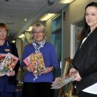 Charge nurse manager Shirley Bell (left), University of Otago School of Business director of...
