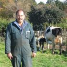 Charlton dairy farmer Doug Dodds has concerns about the emissions trading scheme in its present...