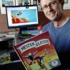 Children's author Kyle Mewburn. Photo by Linda Robertson.