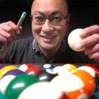 Dunedin's Sam Chin won the South Island eight ball pool championships over the weekend. Photo by...