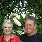 Christine and Bernard Flannery. Photos by Helena de Reus.
