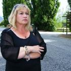 Cindy Liggett, whose husband Russell was killed on September 14 when the ute he was driving was...