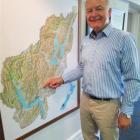 Civil Defence Emergency Management director John Hamilton, of Wellington, briefed civil defence...