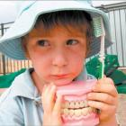 Clean choppers: Nathan Raynbird (4), who attends the Kidzway day-care centre in Tapanui, knows...