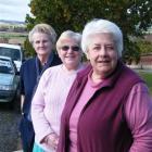 Clinton Senior Citizens Club members (from left) secretary Tara Fulcher , president Marian Smith...
