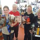 Clutha ceramics artists who were successful at the South Island Ceramic Art Exhibition in...