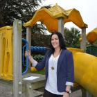Clutha District Youth Council chairwoman Kate Morrison at  the Lanark St playground in Balclutha....
