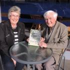 Collaborators in writing the history of the Waimate Sheep Dog Trial Club, Judith Hayward and John...
