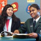 Columba College Chinese teacher Angela Chen will accompany pupil Sarah Agyeman on a trip to China...