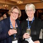 Di Geary and Betty Larkins, both of Dunedin.