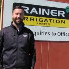 Committed to the industry... Rainer Irrigation assistant manager Lucas Cawte. PHOTO BY MAUREEN BISHO